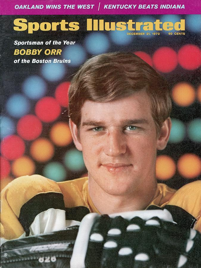 Boston Bruins Bobby Orr, 1970 Sportsman Of The Year Sports Illustrated Cover Photograph by Sports Illustrated