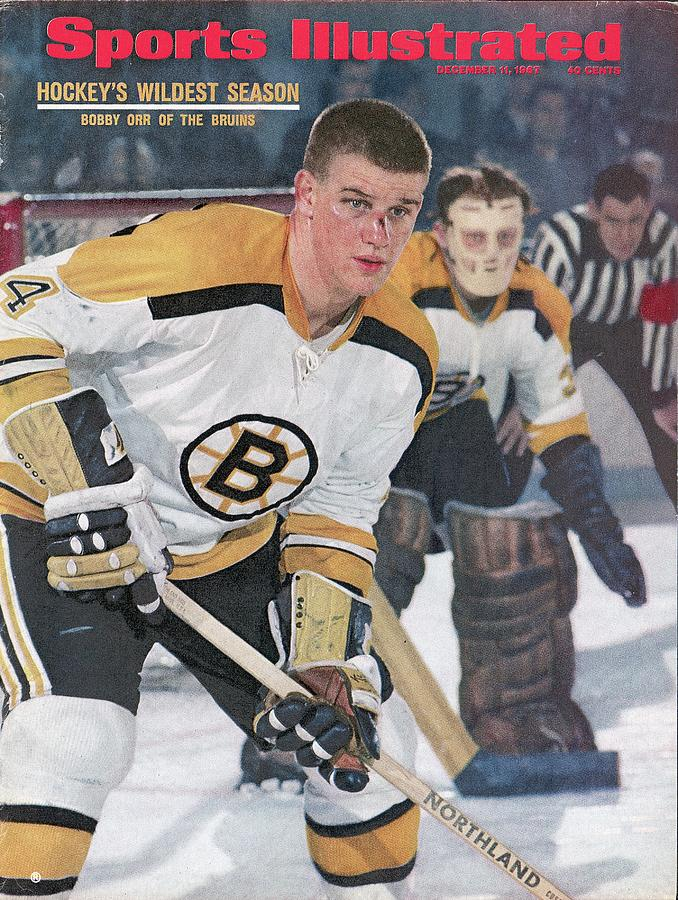 Boston Bruins Bobby Orr... Sports Illustrated Cover Photograph by Sports Illustrated