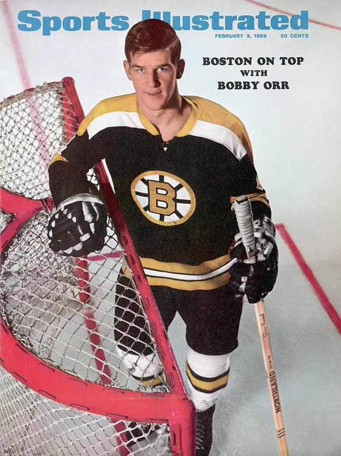 Boston Bruins Bobby Orr Sports Illustrated Cover Photograph by Sports Illustrated