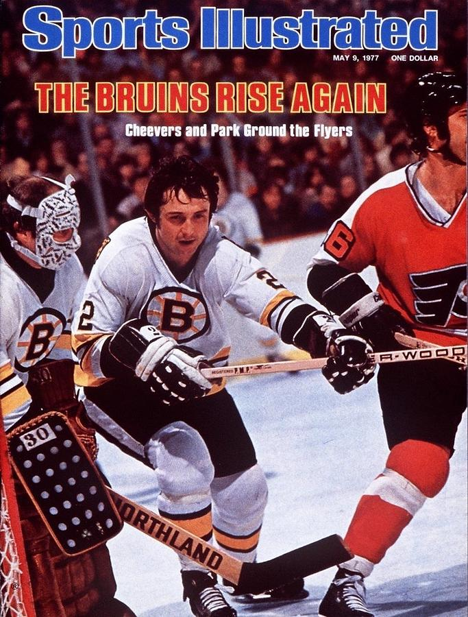Boston Bruins Brad Park, 1977 Nhl Semifinals Sports Illustrated Cover Photograph by Sports Illustrated