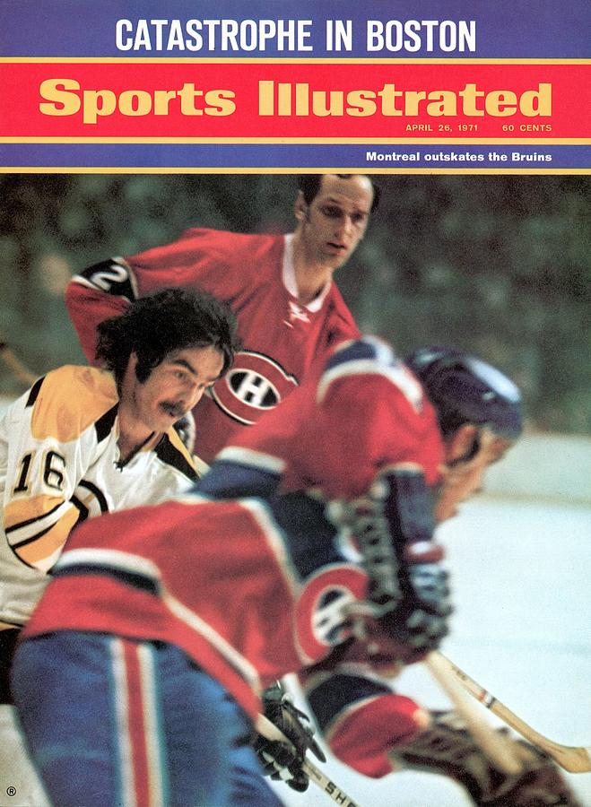 Boston Bruins Derek Sanderson, 1971 Nhl Quarterfinals Sports Illustrated Cover Photograph by Sports Illustrated