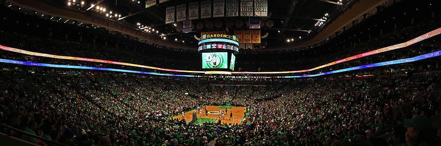 Boston Celtics at TD Garden  by Juergen Roth