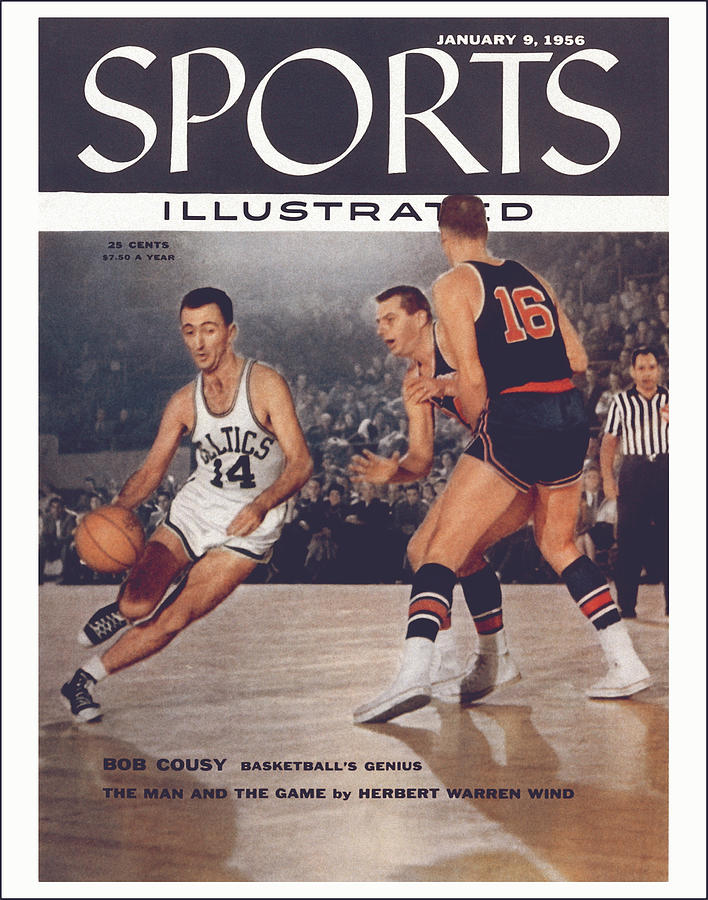 Boston Celtics Bob Cousy... Sports Illustrated Cover Photograph by Sports Illustrated