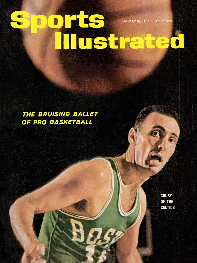 Boston Celtics Bob Cousy Sports Illustrated Cover Photograph by Sports Illustrated