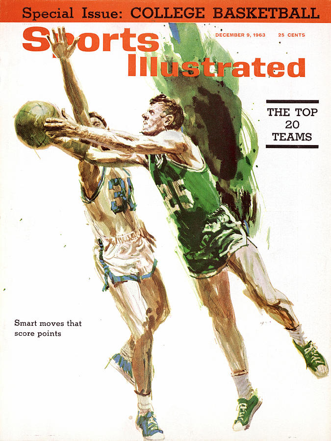 Boston Celtics Frank Ramsey And Sports Illustrated Writer Sports Illustrated Cover Photograph by Sports Illustrated