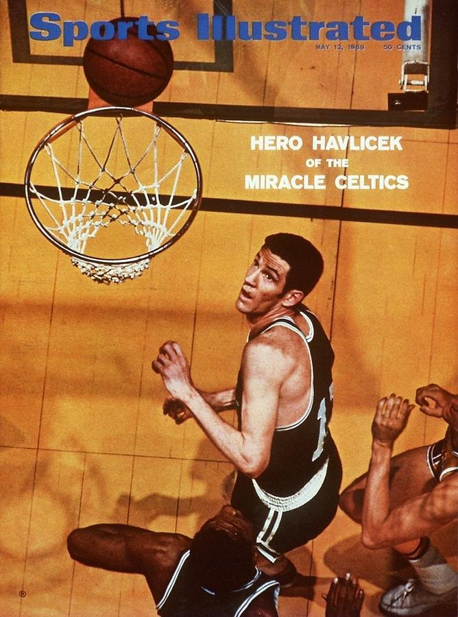 Boston Celtics John Havlicek, 1969 Nba Finals Sports Illustrated Cover Photograph by Sports Illustrated
