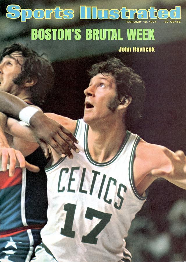 Boston Celtics John Havlicek Sports Illustrated Cover Photograph by Sports Illustrated
