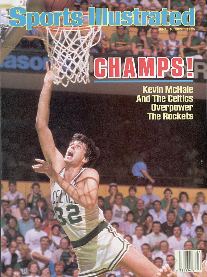 Boston Celtics Kevin Mchale, 1986 Nba Finals Sports Illustrated Cover Photograph by Sports Illustrated