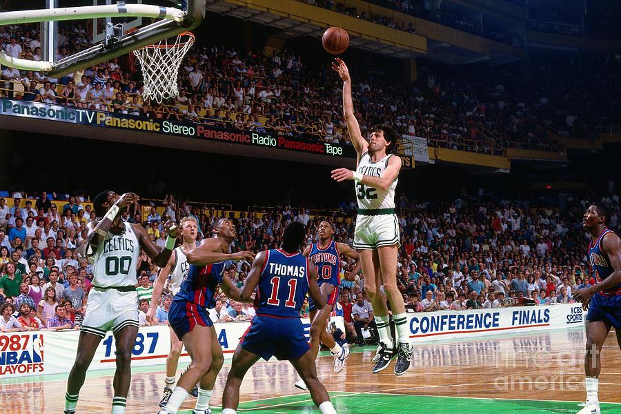 Boston Celtics - Kevin Mchale Photograph by Dick Raphael