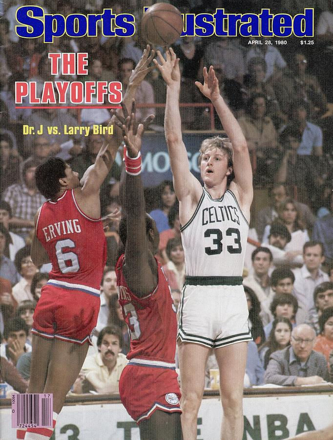 Boston Celtics Larry Bird, 1980 Nba Eastern Conference Sports Illustrated Cover Photograph by Sports Illustrated