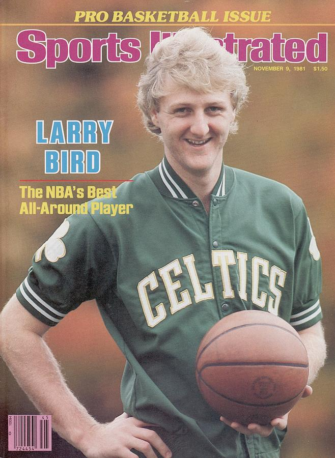 Boston Celtics Larry Bird, 1981 Nba Preview Sports Illustrated Cover Photograph by Sports Illustrated