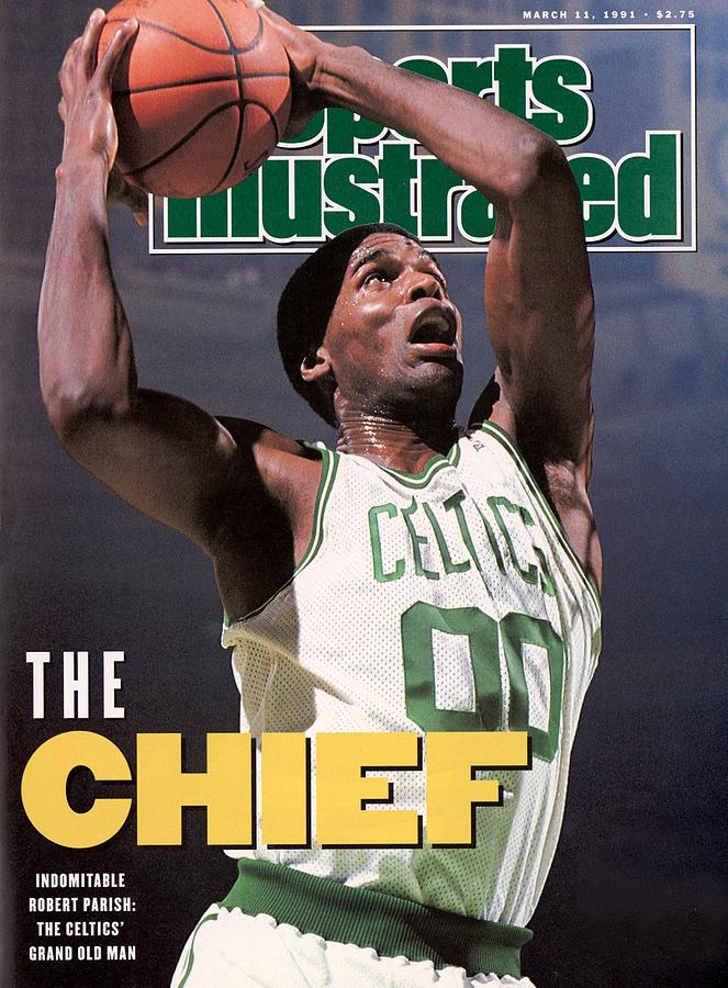 Boston Celtics Robert Parish... Sports Illustrated Cover Photograph by Sports Illustrated