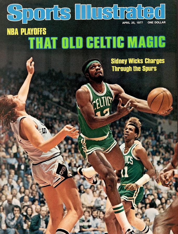 Boston Celtics Sidney Wicks, 1977 Nba Eastern Conference Sports Illustrated Cover Photograph by Sports Illustrated