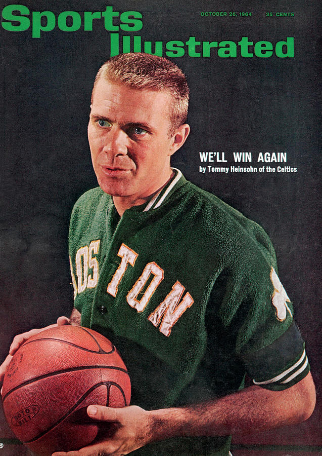 Boston Celtics Tommy Heinsohn Sports Illustrated Cover Photograph by Sports Illustrated