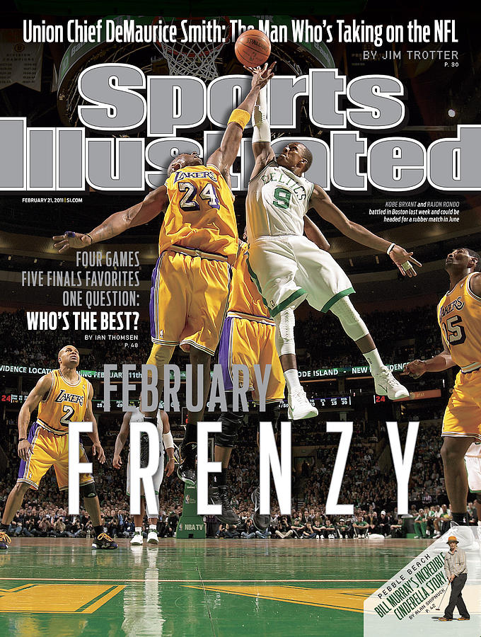 Boston Celtics Vs Los Angeles Lakers Sports Illustrated Cover Photograph by Sports Illustrated