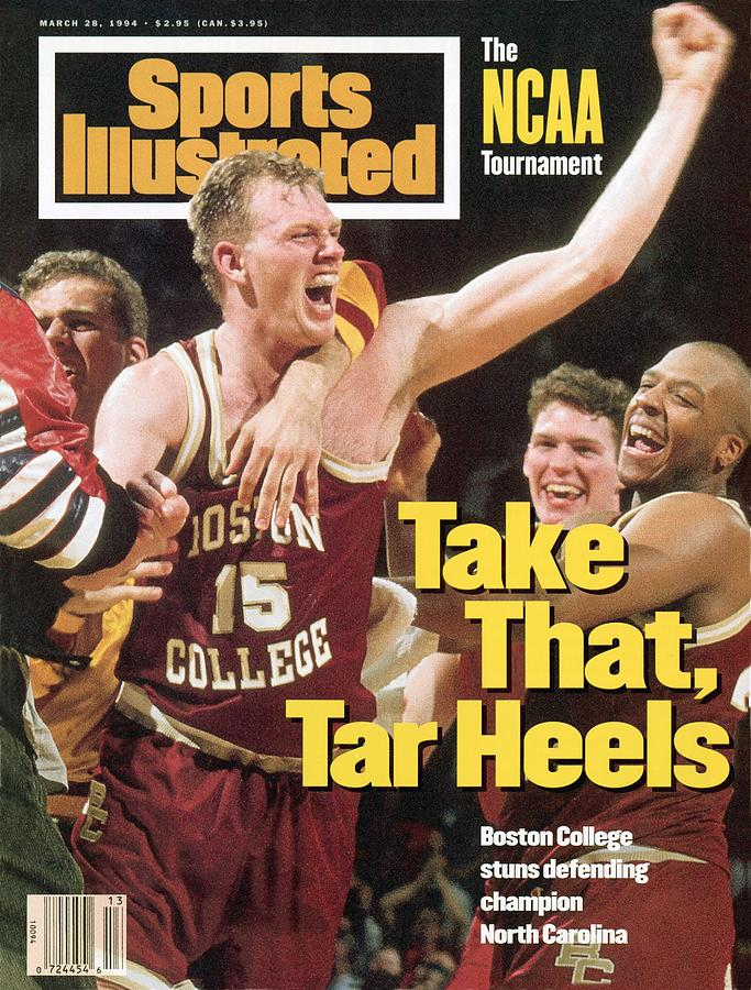 Boston College Bill Curley, 1994 Ncaa East Regional Sports Illustrated Cover Photograph by Sports Illustrated