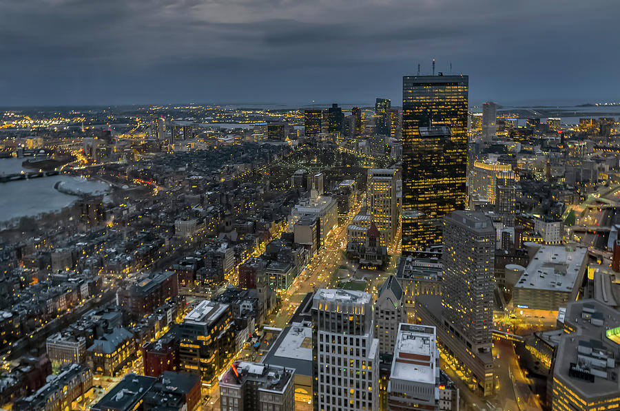 Boston, Early Evening by Dimitris Sivyllis