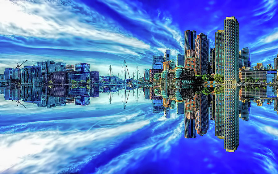 Boston Inverted by Gordon Engebretson