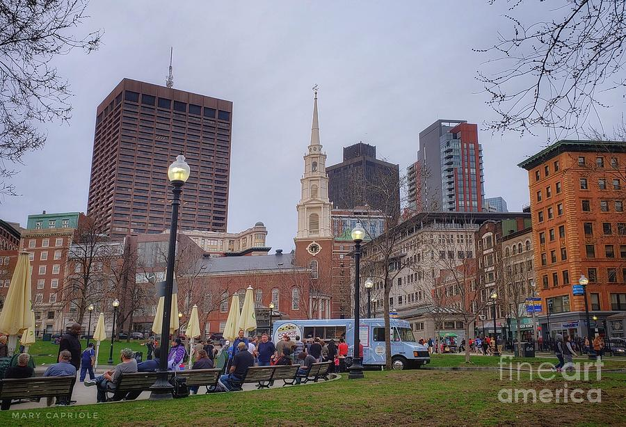 Boston, Massachusetts  by Mary Capriole