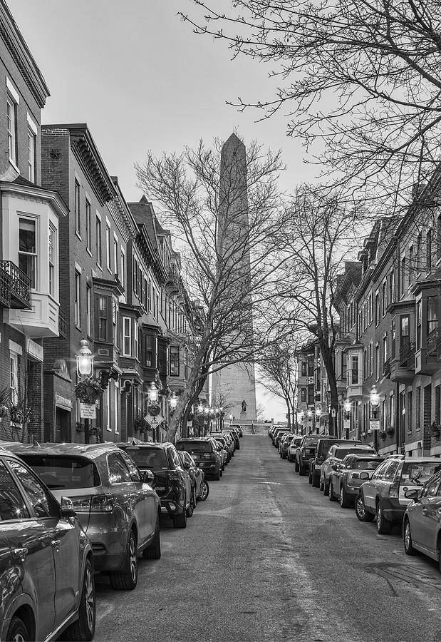 Boston Monument Avenue by Juergen Roth