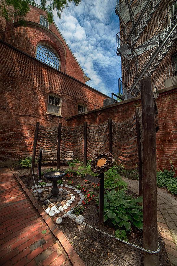 Boston North End Memorial Garden by Joann Vitali