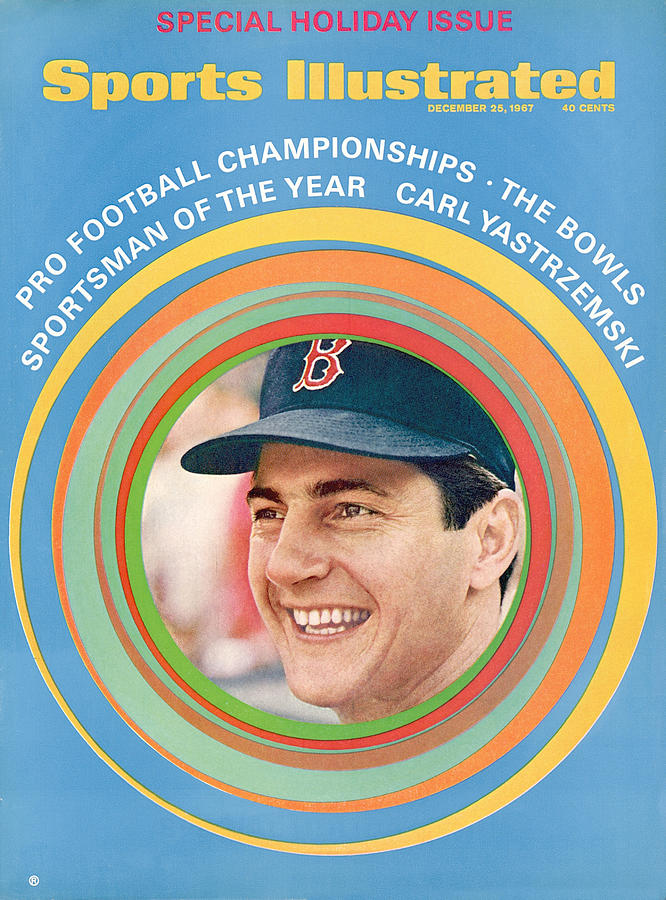 Boston Red Sox Carl Yastrzemski, 1967 Sportsman Of The Year Sports Illustrated Cover Photograph by Sports Illustrated