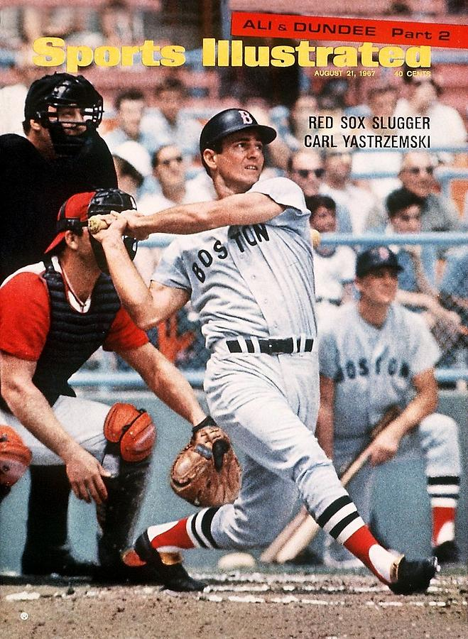 Boston Red Sox Carl Yastrzemski... Sports Illustrated Cover Photograph by Sports Illustrated