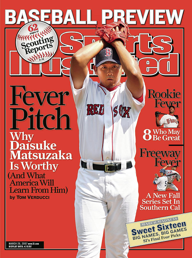 Boston Red Sox Daisuke Matsuzaka... Sports Illustrated Cover Photograph by Sports Illustrated