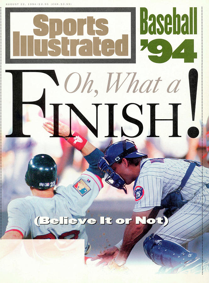 Boston Red Sox Dave Valle And Chicago Cubs Rick Wilkins Sports Illustrated Cover Photograph by Sports Illustrated