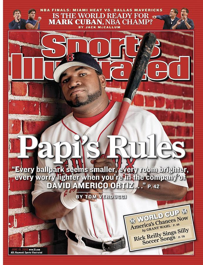 Boston Red Sox David Ortiz Sports Illustrated Cover Photograph by Sports Illustrated