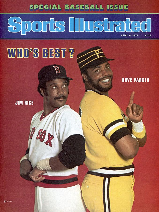 Boston Red Sox Jim Rice And Pittsburgh Pirates Dave Parker Sports Illustrated Cover Photograph by Sports Illustrated