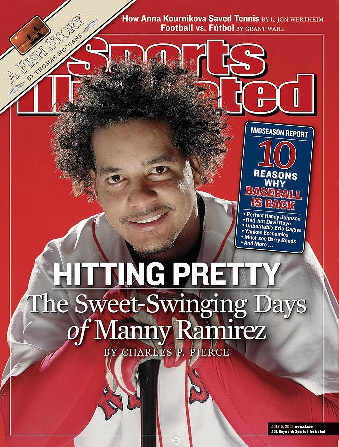 Boston Red Sox Manny Ramirez Sports Illustrated Cover Photograph by Sports Illustrated