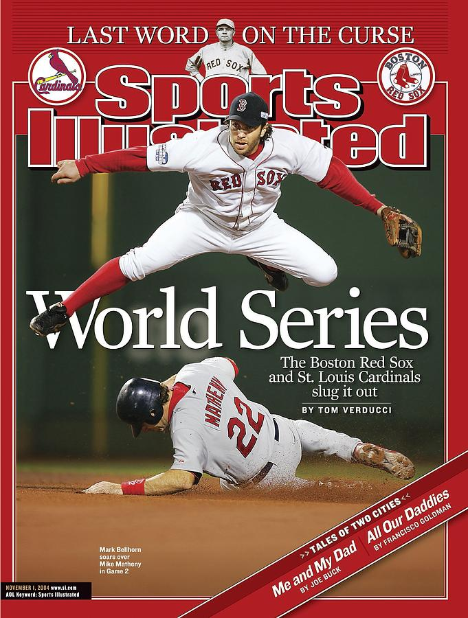 Boston Red Sox Mark Bellhorn, 2004 World Series Sports Illustrated Cover Photograph by Sports Illustrated