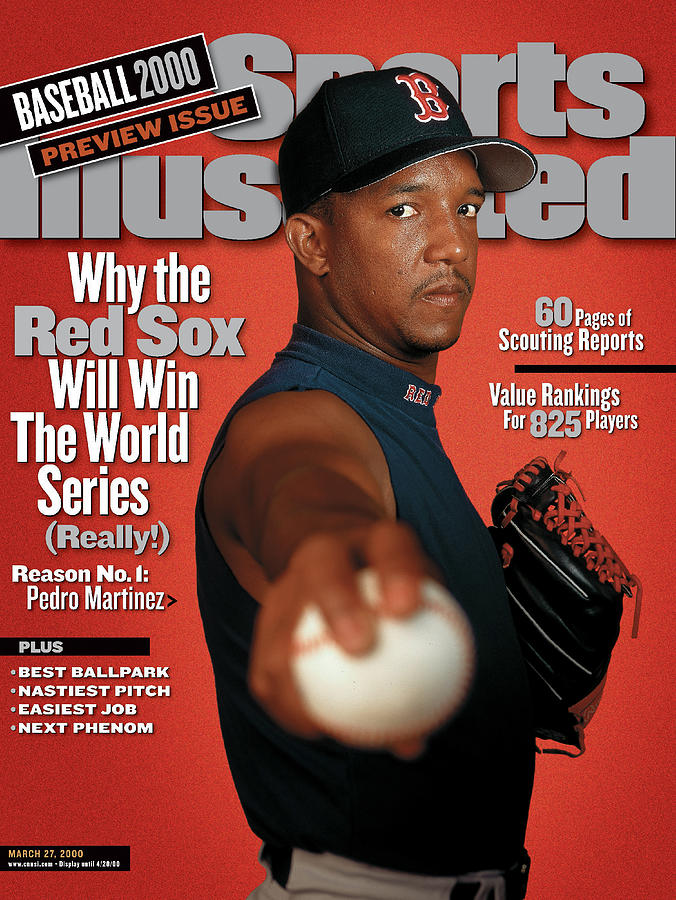 Boston Red Sox Pedro Martinez, 2000 Mlb Baseball Preview Sports Illustrated Cover Photograph by Sports Illustrated