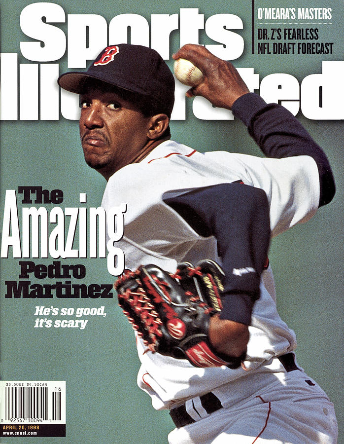 Boston Red Sox Pedro Martinez... Sports Illustrated Cover Photograph by Sports Illustrated