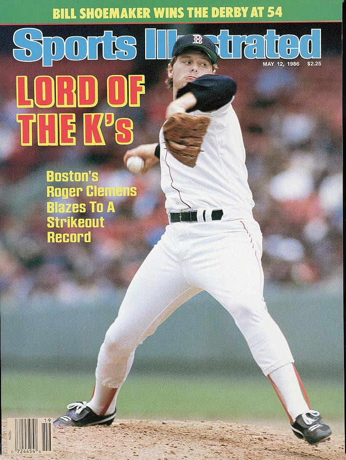 Boston Red Sox Roger Clemens... Sports Illustrated Cover Photograph by Sports Illustrated