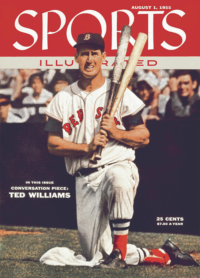 Boston Red Sox Ted Williams... Sports Illustrated Cover Photograph by Sports Illustrated