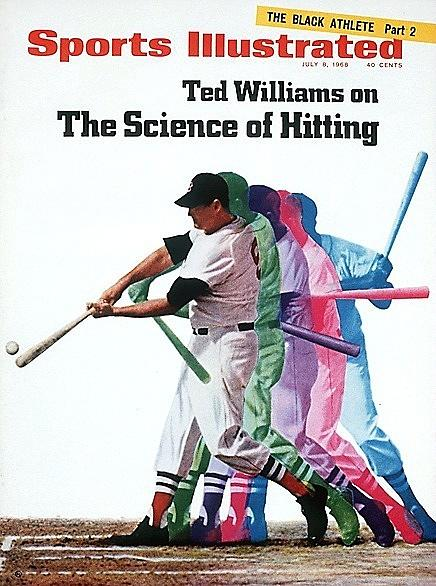 Boston Red Sox Ted Williams Sports Illustrated Cover Photograph by Sports Illustrated