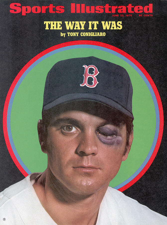 Boston Red Sox Tony Conigliaro Sports Illustrated Cover Photograph by Sports Illustrated
