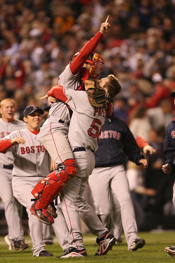 Boston Red Sox V Colorado Rockies Photograph by Brad Mangin