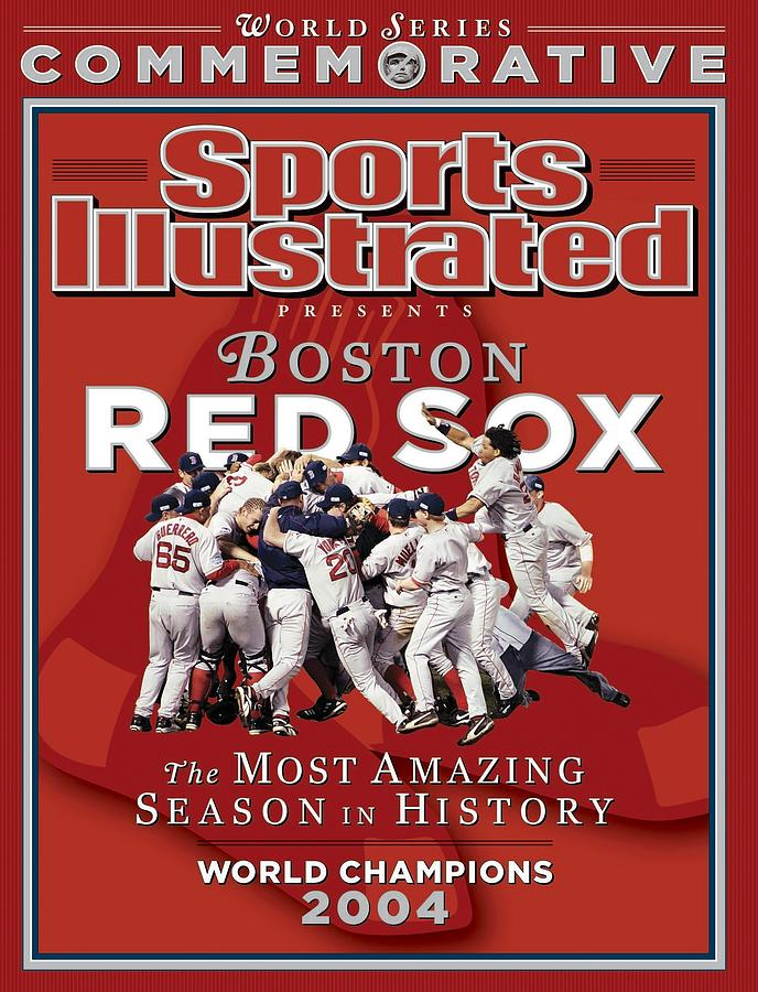 Boston Red Sox Vs St. Louis Cardinals, 2004 World Series Sports Illustrated Cover Photograph by Sports Illustrated