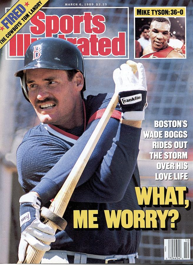 Boston Red Sox Wade Boggs Sports Illustrated Cover Photograph by Sports Illustrated