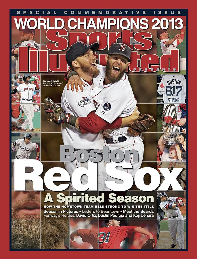 St. Louis Cardinals Photograph - Boston Red Sox, World Champions 2013 A Spirited Season Sports Illustrated Cover by Sports Illustrated