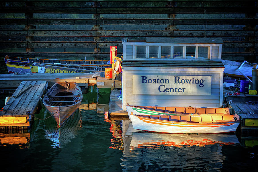 Boston Rowing Center by Rick Berk