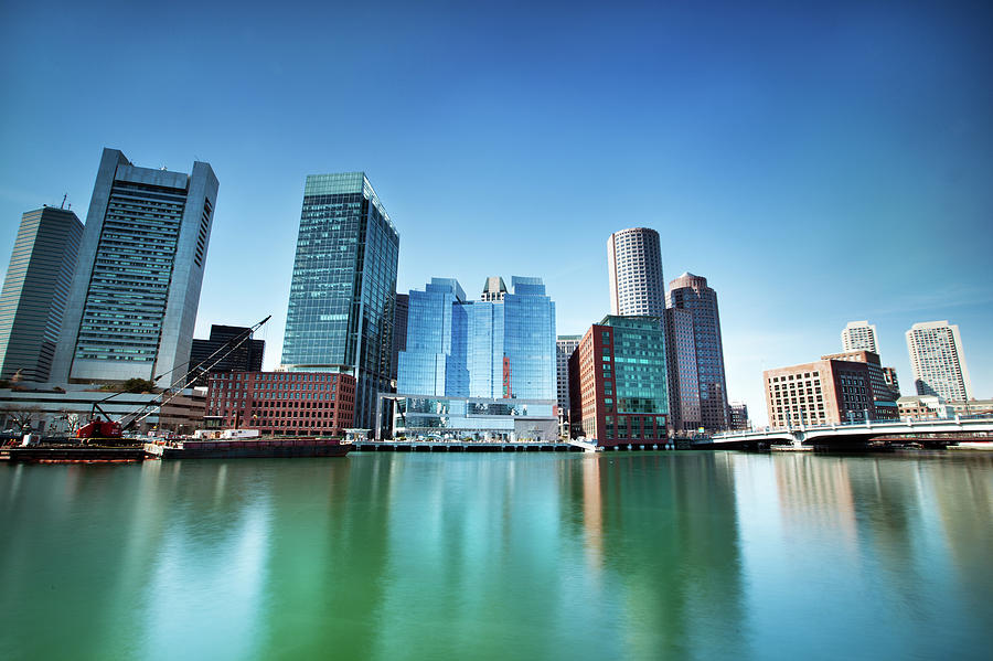 Boston Skyline Photograph by Andy Freer