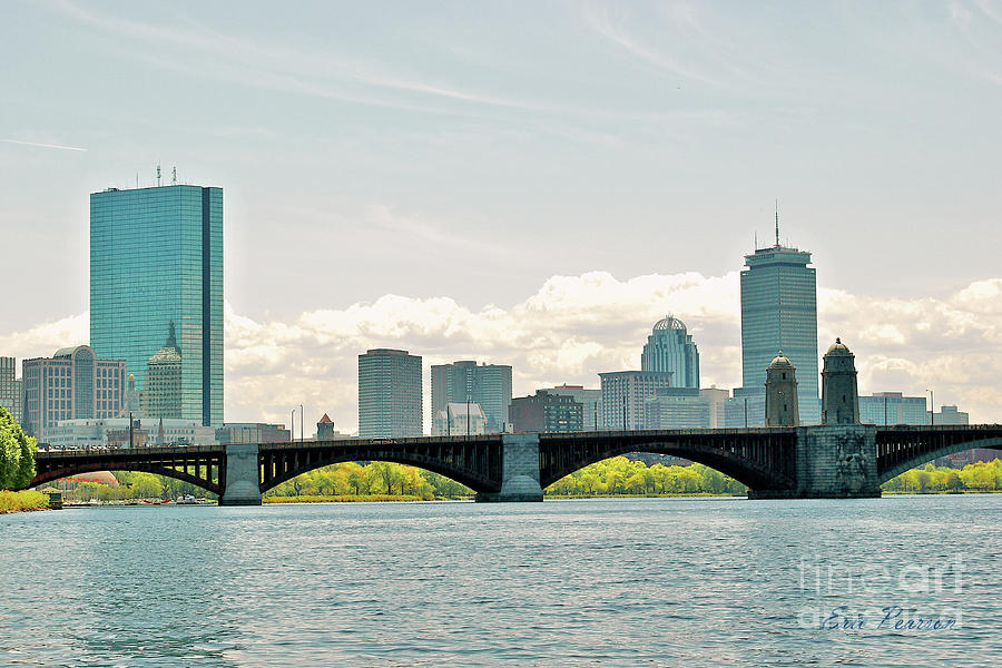 Boston Skyline by Eric Pearson