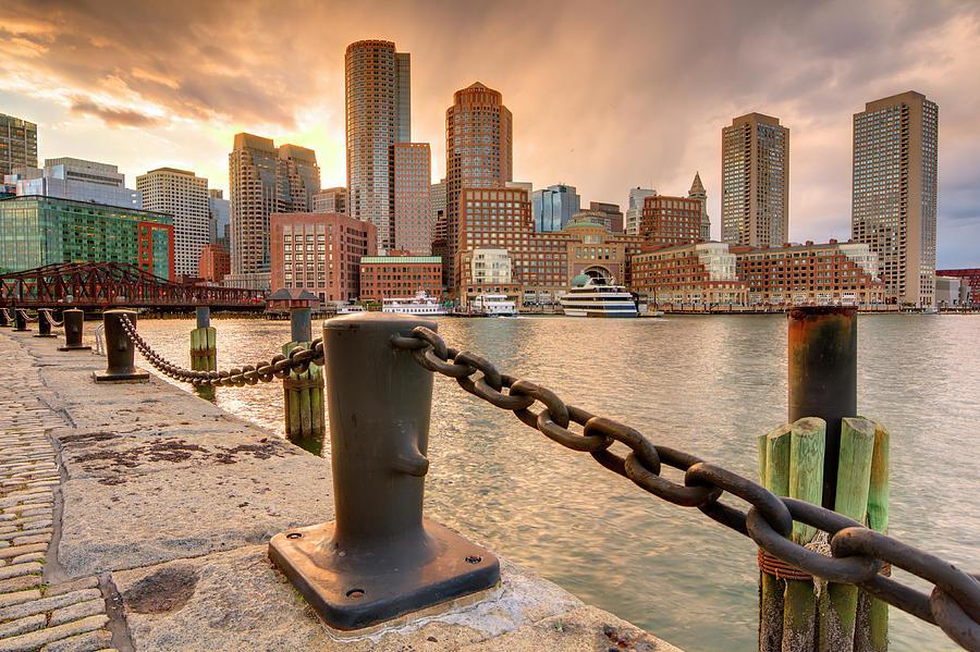Boston Skyline Photograph by Sean Pavone
