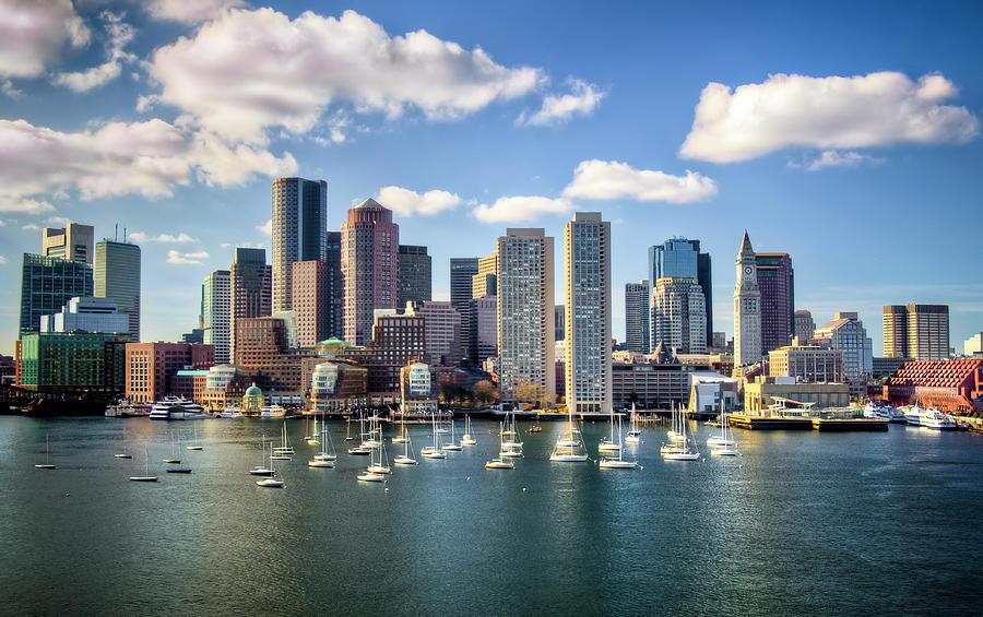 Boston Skyline Photograph by Tomasz Szulczewski