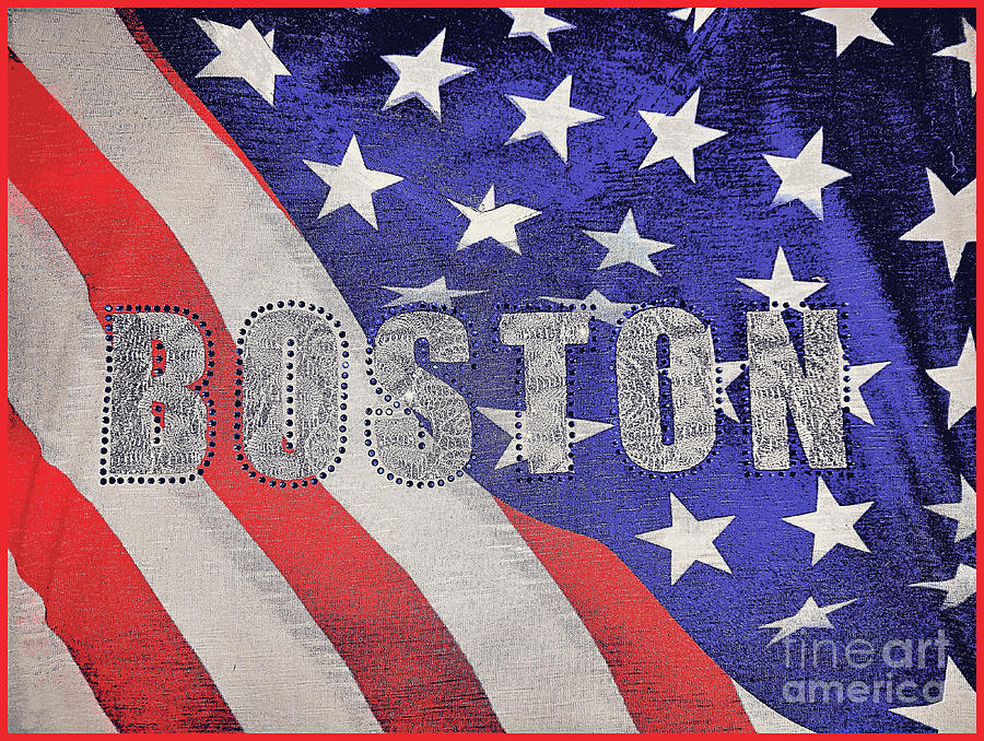 Boston Stars And Stripes by Diann Fisher