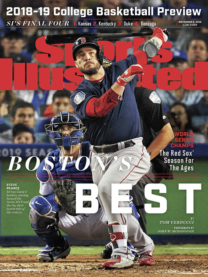 Bostons Best Boston Red Sox, 2018 World Series Champions Sports Illustrated Cover Photograph by Sports Illustrated